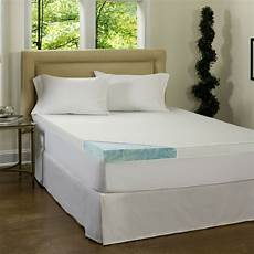 beautyrest 4 inch gel memory foam mattress topper with