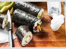Chicken schnitzel sushi rolls Recipe   Foodiful