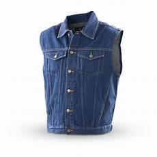 Jean Jacket Denim Guide Guide Gear 174 Denim Jacket Vest Blue 130232 Vests At