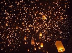 Lanterns And Lights At Chiang Mai Road Yi Peng Lantern Release Magic At Mae Jo
