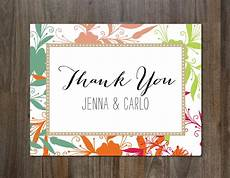 Thank You Page Template Free Download Thank You Card Postcard Templates Creative Market