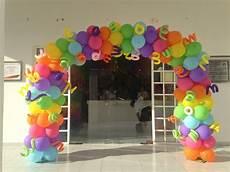 arco de globos rainbow arch balloon arco iris arco de globos decoracion