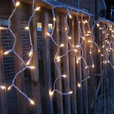 Warm White Christmas Lights Outdoor Warm White Led Icicle Lights Outdoor Christmas