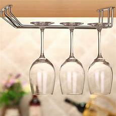 stainless steel wine glass holder hanging glasses