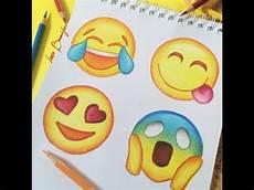 Easy Emoji Art How To Draw Emojis Youtube
