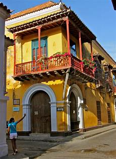 old and new cartagena stock image image of wall tourism