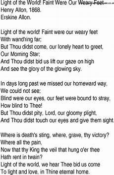 Stand In The Light Lyrics Hymn And Gospel Song Lyrics For Light Of The World Faint