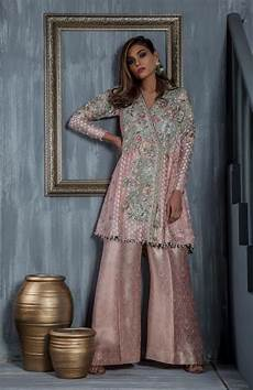 Baby Farooq Design Beutifull Wedding Party Dress In Light Baby Pink Color