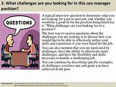 Interview Questions For Ceo Position Top 10 Ceo Manager Interview Questions And Answers