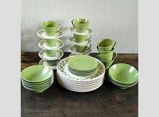 Vintage Melmac Dinnerware Set Lenox Ware 48 by