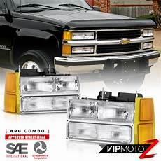 1997 Chevy Silverado Light Bulb 94 98 Chevy C3500 Headlights Bumper Roof Cab Lamp Bulbs