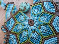 delicate macrame mandala necklace 171 the beading yogini