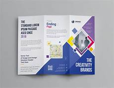 Brochure Templates For It Company Neptune Professional Corporate Tri Fold Brochure Template