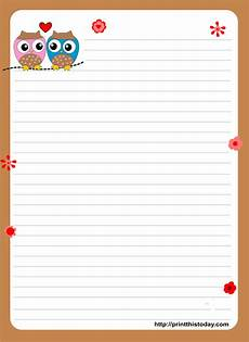 Letter Writing Paper Template 1000 Images About Free Printable Stationary On Pinterest