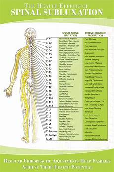 Chart Of Nerves In Back Nerve Chart Hunter Chiropractic Wellness Centre