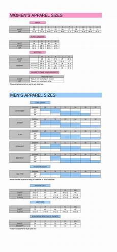 Comme Size Chart Guide Des Tailles Urban Planet