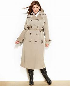 plus trench coats for racing fog plus size trench coat in vintage khaki