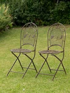 sedie da giardino in ferro battuto set tavolo da giardino 4 sedie in ferro battuto mobili da