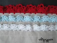 eyelet lace crochet edging pattern alipyper