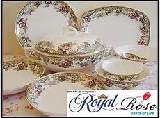 Bone China Dinnerware Set England Rose Orginal From