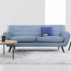 Sofa Mid Century Modern 3d Image by Mid Century Modern Tufted Sofa Reviews Allmodern