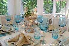 kitchen table setting ideas a themed table setting with a starfish napkin fold