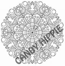 halloween mandala coloring pages halloween mandala coloring pages bell rehwoldt com