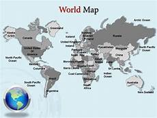 World Map Template Powerpoint World Map Powerpoint Template Download Power Point Maps