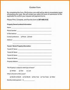 Eviction Notice Form Eviction Notice Form Ipasphoto