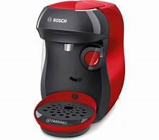 Red Light On Tassimo Coffee Machine Buy Tassimo By Bosch Happy Tas1003gb Coffee Machine Red