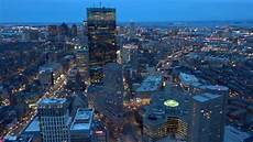 Prudential Center Lights View From Prudential Center Boston Ma Youtube