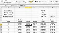 How To Calculate Mortgage Payment In Excel Calculating Mortgage And Apr In Excel 2010 Youtube