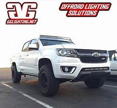 Chevy Colorado Light Bar Install 2014 Chevy Colorado 50 Quot Curved Led Bar Roof Mounts