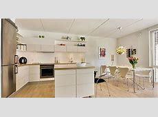 Splendid White Pure Interior Design Apartment in Denmark