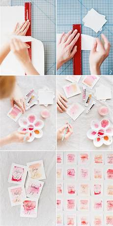 Watercolor Wedding Cards Diy Wedding Watercolor Cards Once Wed