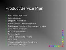 Product Service Plan Business Plan For Everyone Made Easy