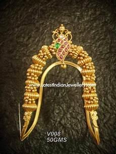 Arm Vanki Designs In Gold Unique Temple Design Nakshi Gold Ara Vanki Latest Indian