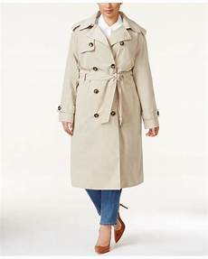plus size trench coats for 4x foggy fog plus size breasted trench coat in