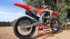 2019 honda dirt bikes 2019 honda crf450r works edition dirt bike magazine