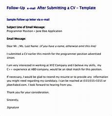 Application Follow Up Email Job Application Follow Up Email Sample Template Business