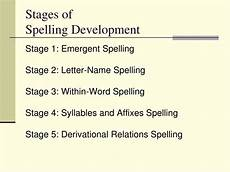 Stages Of Spelling Development Chart Ppt Emerging Spelling Stages And Teaching Strategies