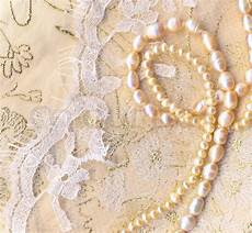 Nice Wedding Background Nice Wedding Background With Pearls Stock Photo Colourbox