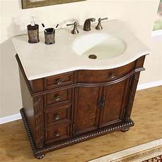 36 quot single bathroom vanity cherry with oval sink