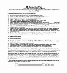 90 Day Action Plan Template Free 15 Sample 90 Day Plan Templates In Pdf Ms Word