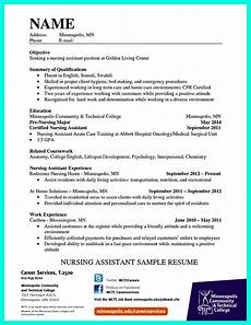 Cna Job Resumes Quot Mention Great And Convincing Skills Quot Said Cna Resume Sample