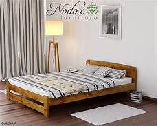 new king size bed quot one quot 6ft solid pine with slats