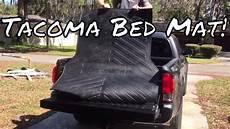 tacoma bed mat impression install