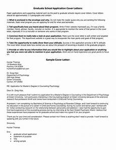 School Application Cover Letter Graduate School Application Cover Letter Example