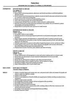 Medical Billing Job Description For Resume 11 Medical Billing Resume Example Collection Resume