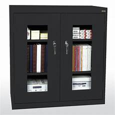 sandusky clear view 2 door storage cabinet reviews wayfair
